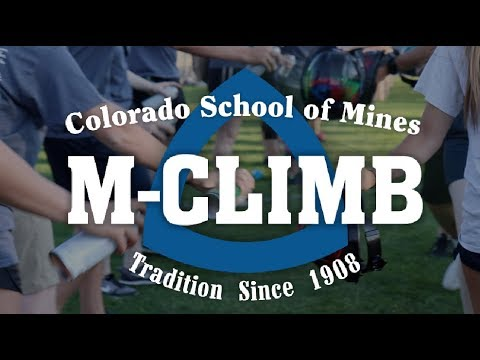 M Climb | Colorado School Of Mines 2017