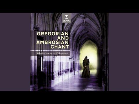Rosary, Pt 4: Glorious Mysteries, 3 Offertorium, Ascendit Deus Gregorian