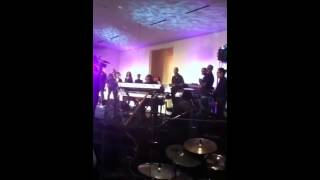 Brandon Jones (Keys) & Cory Henry (Organ) going back and fo