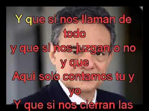Jose Jose Y que con letra