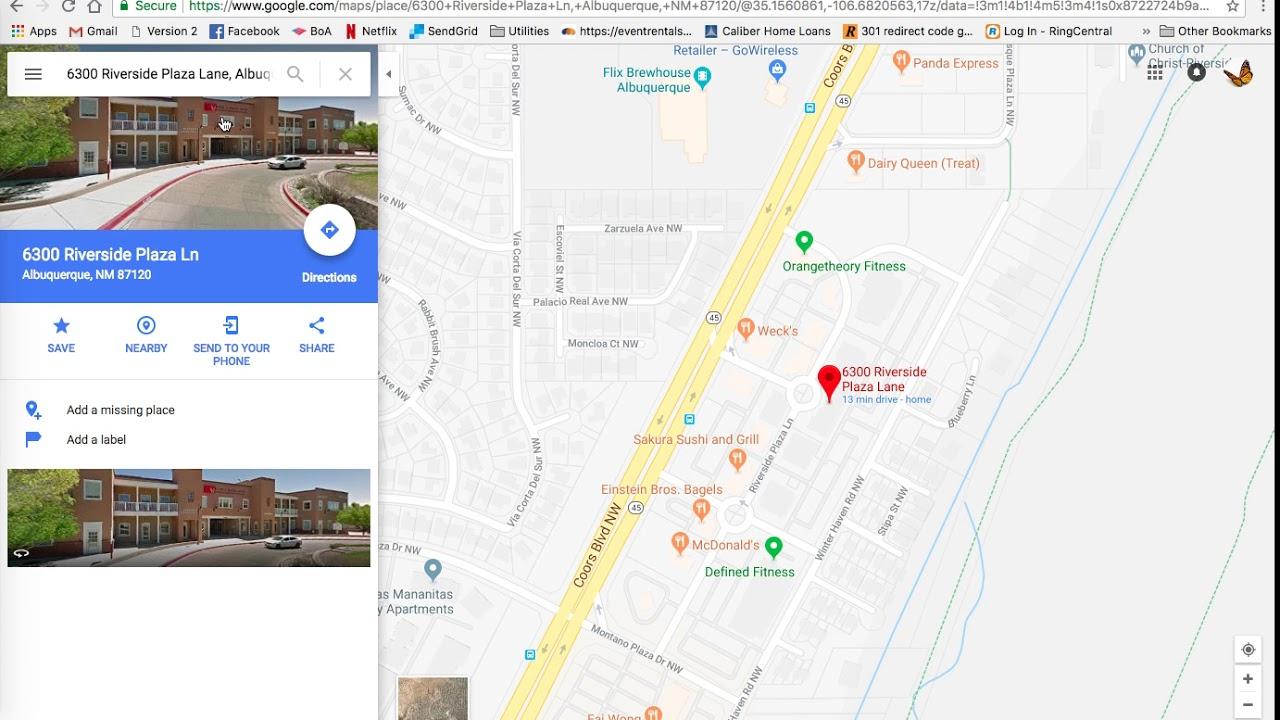 Adding Your Location to Google Maps in ERS on mapquest albuquerque, area code map albuquerque, photography albuquerque, paradise hills albuquerque, zillow albuquerque, microsoft albuquerque,
