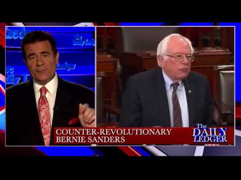 .@TheDailyLedger: Stop the Tape! Counter Revolutionary Bernie Sanders