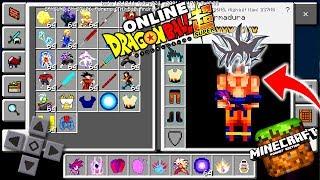 DRAGON BLOCK XENOVERSE V6 ONLINE NO MINECRAFT PE ATUALIZADO ! - (Minecraft Pocket Edition)