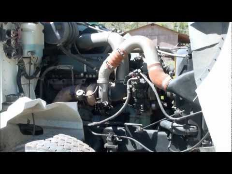 Working On A Detroit Diesel Engine Bad Fuel Pump YouTube