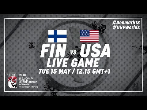 Finland - USA | Live | 2018 IIHF Ice Hockey World Championsh
