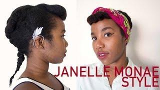 [Coiffure] Style protecteur inspiré de Janelle Monae