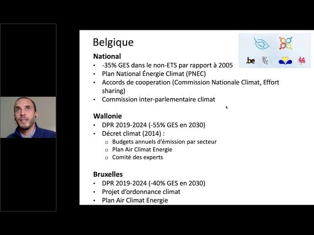 Le droit, un outil à la rescousse du climat ? - Partie 2 : Niveau belge et local, discussion