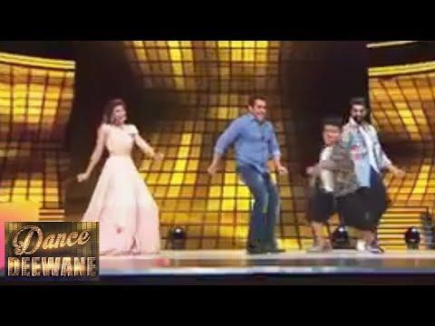 Salman And Jacqueline Amazing Dance Jawani Phir Na Aaye   Race 3 Promotion   Dance Deewane