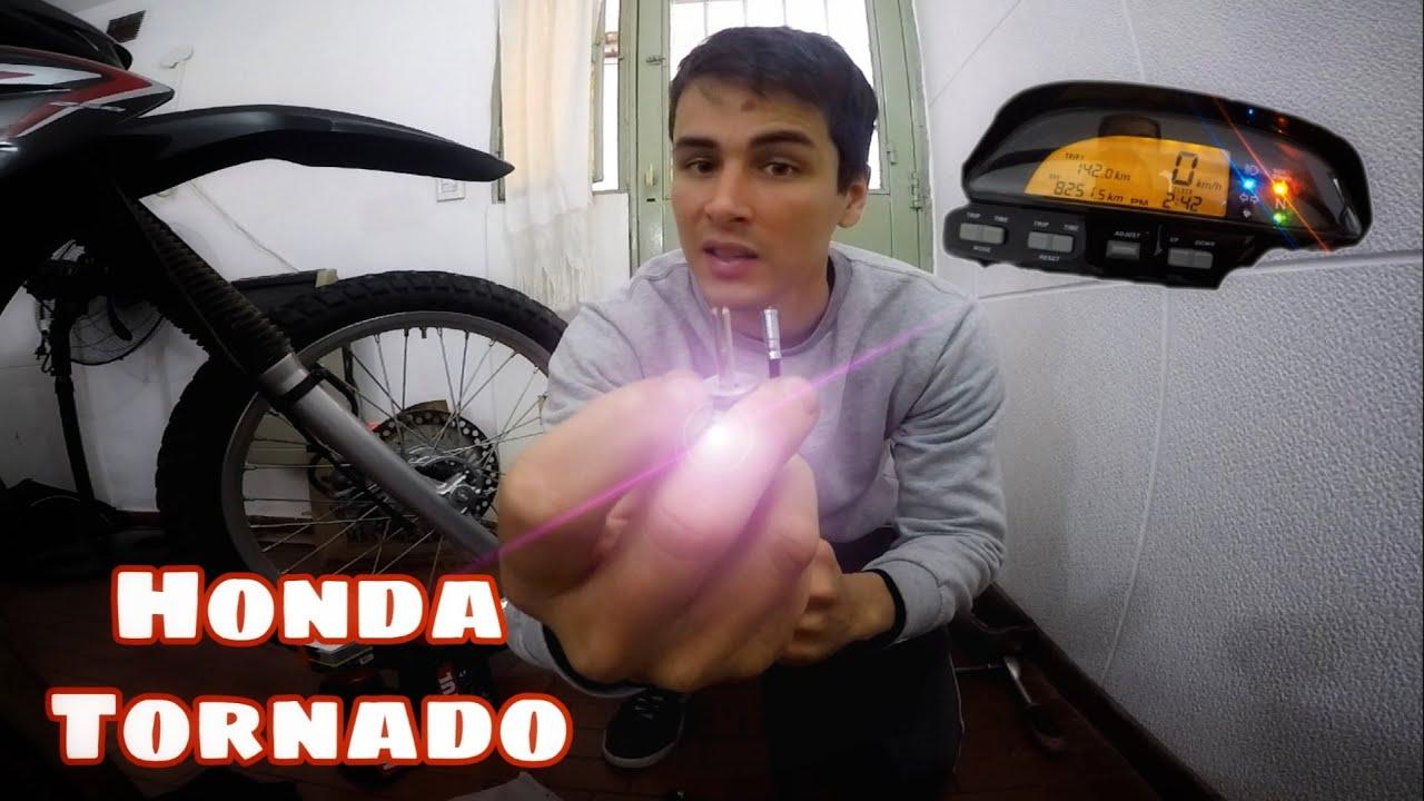 COMO REPARAR VELOCIMETRO DE LA MOTO- HONDA TORNADO