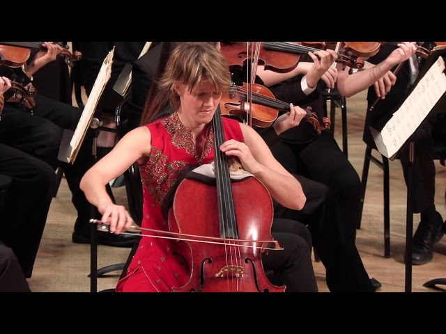 Duke Symphony & Caroline Stinson, cello - II. Adagio (Cello Concerto No. 1 in C Major) - F. J. Haydn