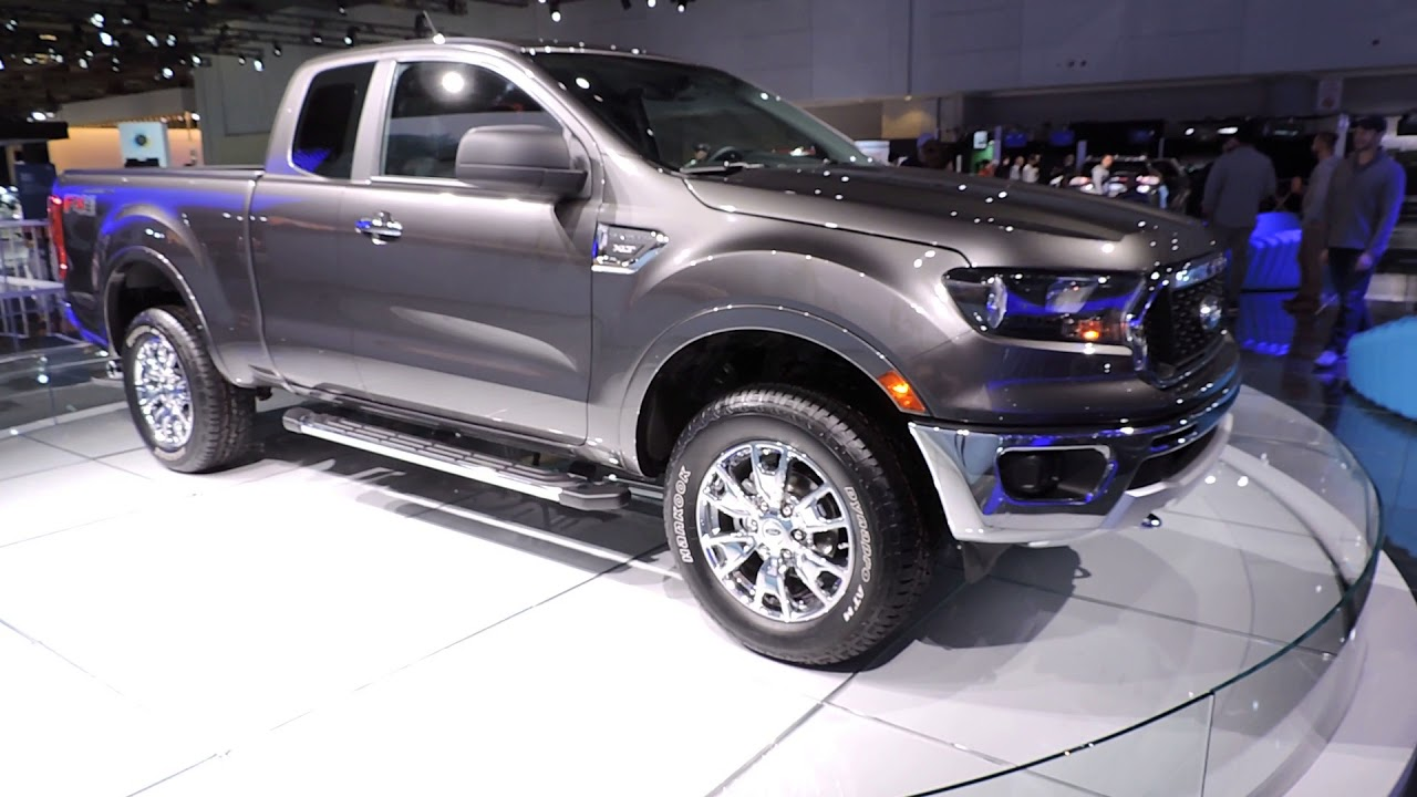 the canadian 2019 ford ranger - first look