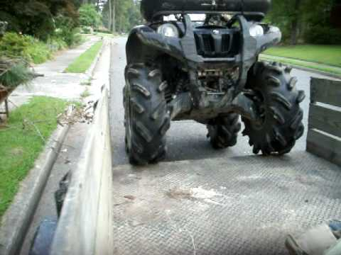 Yamaha Grizzly 550 On 29 5 Outlaws