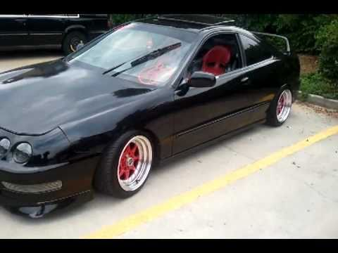 95 Integra Gsr Offset 15x8 Xxr Rims Youtube