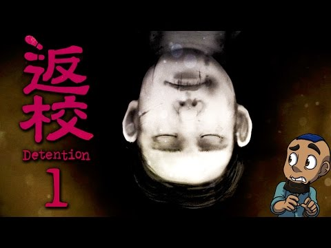Detention 返校 — Part 1 | DISTURBING TYPHOON | Taiwanese Indie Horror Full Game Gameplay Walkthrough
