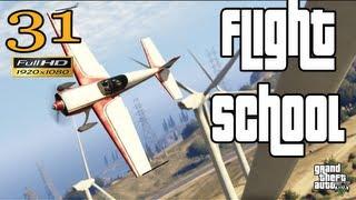 GTA 5 - GTA V Flight School Mission Let