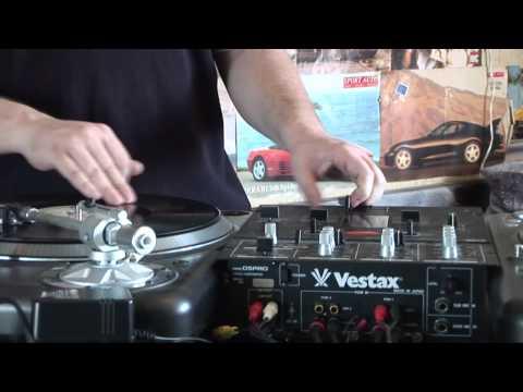 DJ Quick Vinyl Scratch Demo 2011