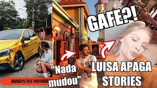 GAFE? LUISA SONZA APAGA STORIES E DÁ SPOILER (que não devia?) DE GRANDE EVENTO DO INSTAGRAM!