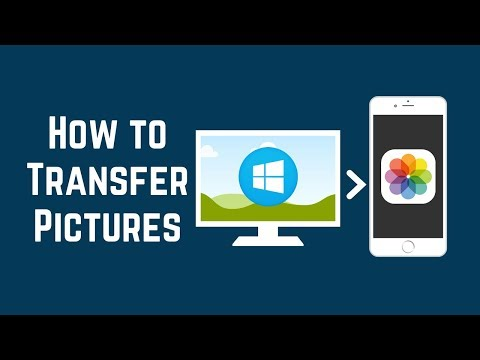 How To Transfer Pictures From PC To IOS