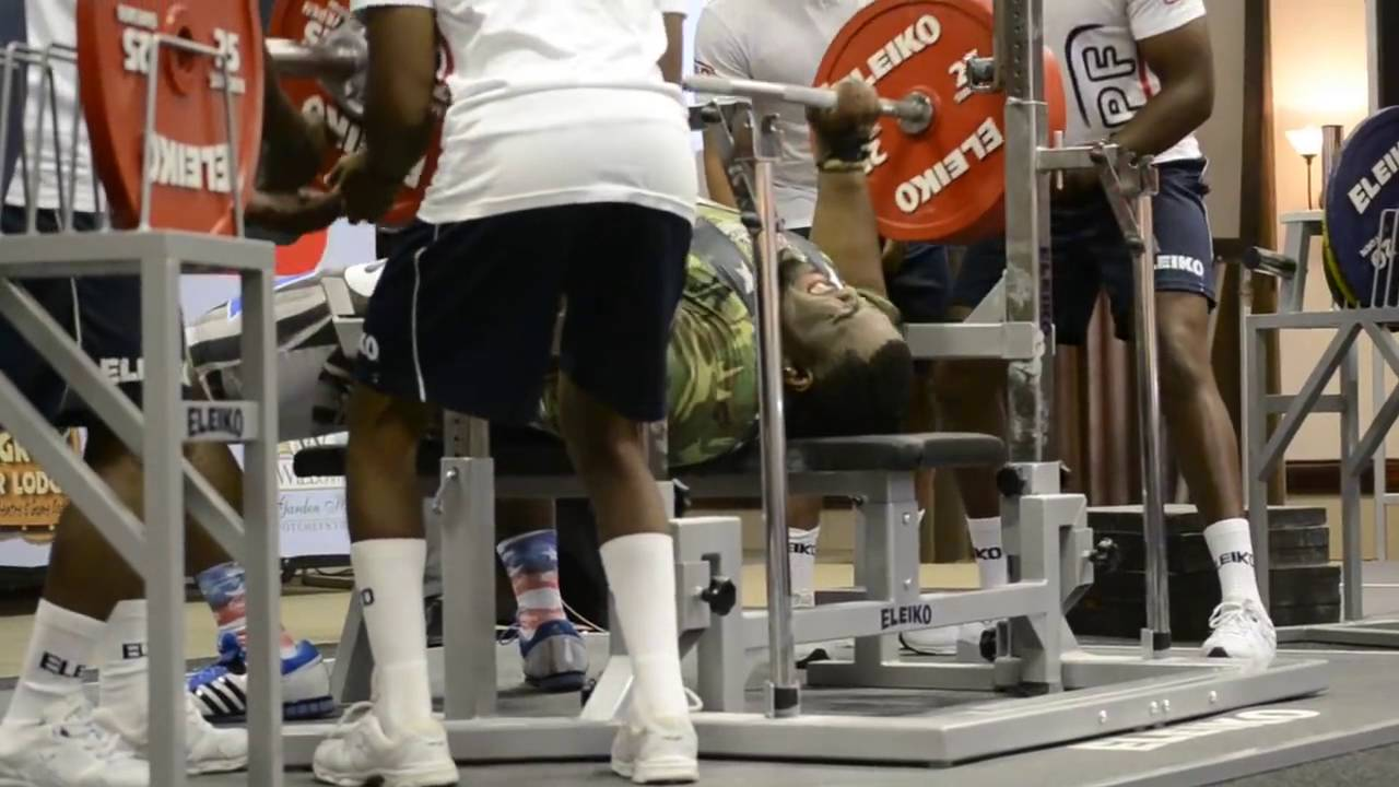 Thomas Davis 622 8 Lb Ipf Raw World Record Bench Press