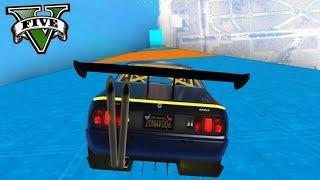 GTA V Online: MEGA RAMPA 90° COM CARRO TUNADÃO!!!