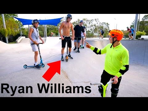 Scooter Tricks with Ryan Williams!