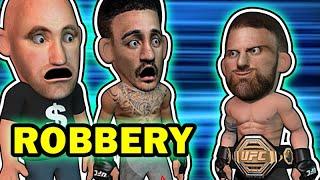 Max Holloway got ROBBED vs Alexander Volkanovski UFC 251
