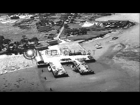 Relief light ship underway at Portland station and lighthouse tender underway in ...HD Stock Footage