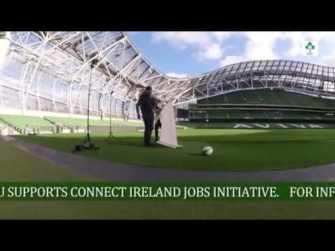Irish Rugby TV: ConnectIreland Job Initiative