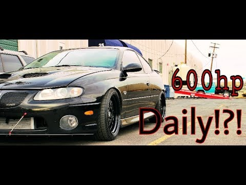 DAILY DRIVING 600HP LSA SUPERCHARGED GTO