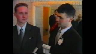 Двойная свадьба в Усолье 2002 год