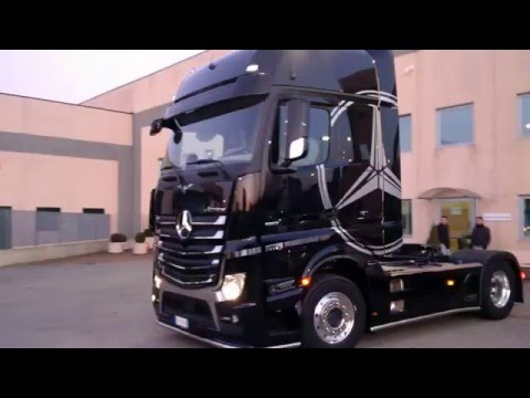 how to drive actros truck