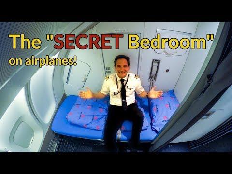 Where do PILOTS+FLIGHT ATTENDANTS sleep on PLANES?Explained by CAPTAIN JOE
