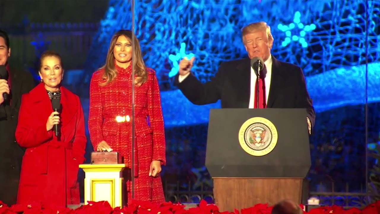 trump wishes americans merry christmas and unbelievable holidays