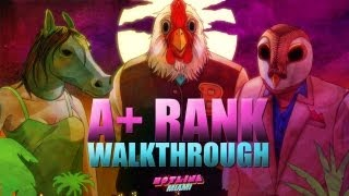 Hotline Miami - A+ Walkthrough - Tenth Chapter: Hot & Heavy (138,350)