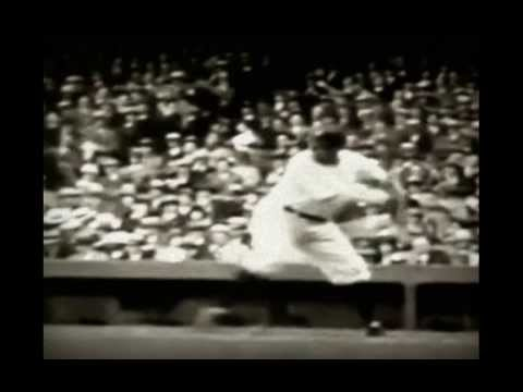 Babe Ruth Slow Motion Swing