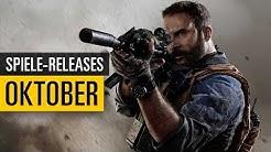 Spiele-Releases im Oktober 2019 | Für PC, PS4, Xbox One und Switch
