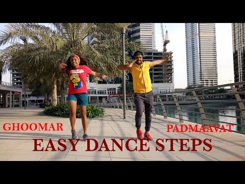 Ghoomar Easy Bollywood Choreography for Beginners | Solo/Group Dance Tutorial | Deepika Padukone