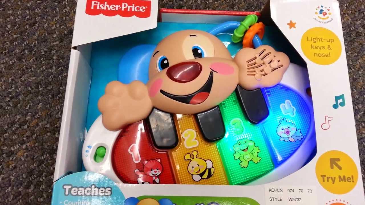 Fisher-Price Laugh & Learn Kick 'n Play Piano - Amazon.com