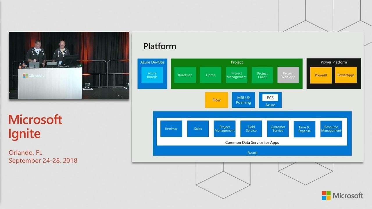 Home and Roadmap: Part of the new Microsoft Project - BRK1033
