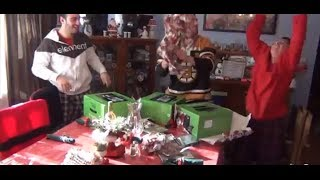 12 Year Old is Pissed on Christmas Until He's Surprised with an Xbox One!