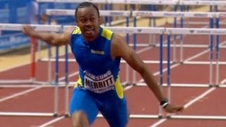 Aries Merritt wins 110m hurdles in Monaco - Universal Sports