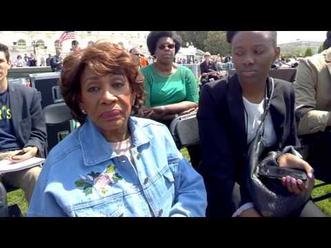BBN interviews US House Financial Services Ranking Member Maxine Waters (D-CA) #EXIMBank