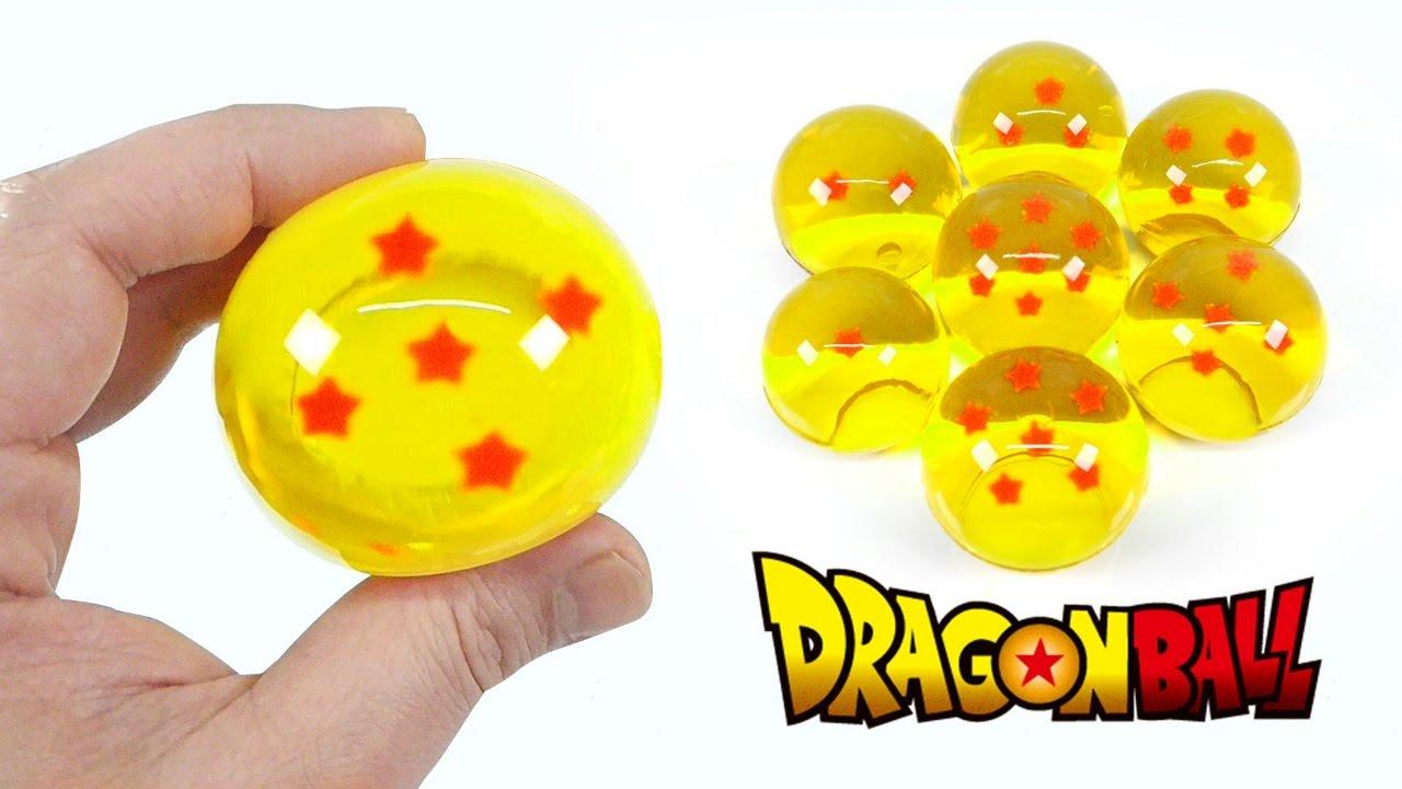 Dragon Ball Jelly ! DIY Edible Water Ball Gummy | MonsterKids