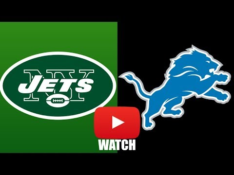 Jets vs Lions Week 1 Full Game Highlights (HD)