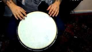 Уроки игры на джембе от Вани Пуха. Новый рисунок.