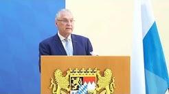 Pressekonferenz zum Verfassungsschutzbericht 2019 (Livestream-Mitschnitt) - Bayern