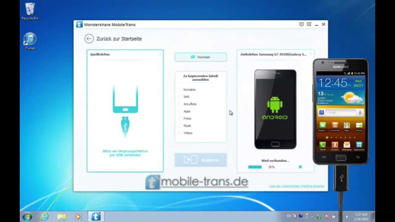 Adressen Von Samsung Auf Iphone Übertragen