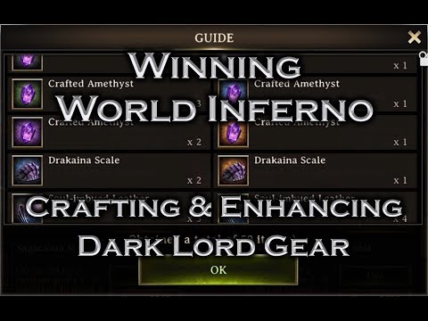 Iron Throne  Winning World Inferno and Crafting Dark Lord Gear
