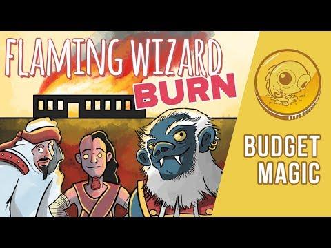 Budget Magic: $27 (38 tix) Flaming Wizard Burn (Standard)