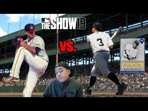 ANOTHER PRO CHALLENGED ME TO WAGER HIS GOD SQUAD! MLB The Show 19 Diamond Dynasty
